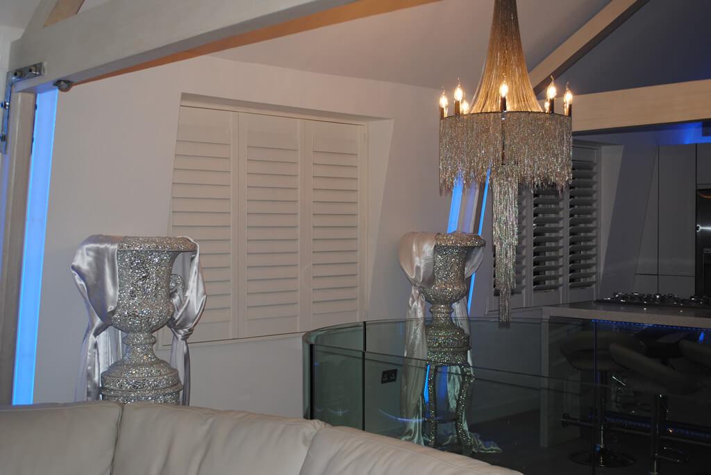 bespoke shutters for penthouse in edgware road london. Black Bedroom Furniture Sets. Home Design Ideas