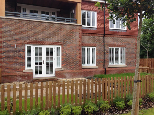 new build shutters
