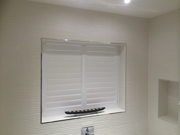 Bathroom Shutters For Property In Forest Hill South London Shuttersup