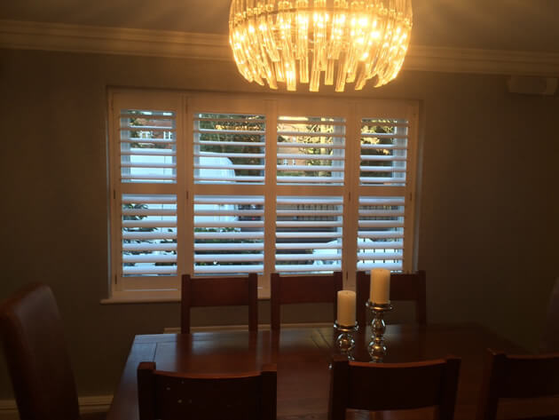 Using Shutters From Our Antigua Range We Were Able To Create The Perfect Solution For Both Rooms Which Finished In Pure White Matching Skirting