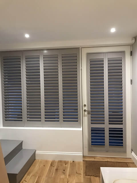 office window and door shutters