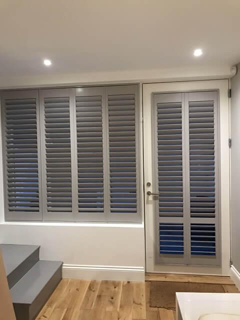 Window and door shutters for office in hackney london for Office doors with windows