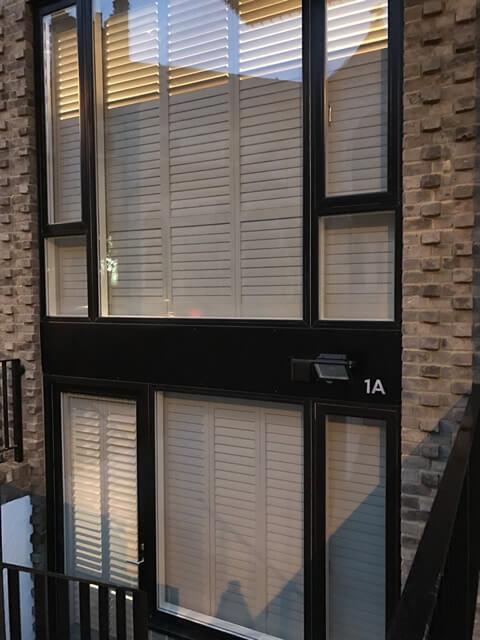 office window shutters from outside