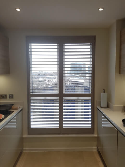 ealing flat kitchen shutters