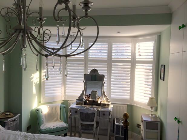 master bedroom bay window shutters