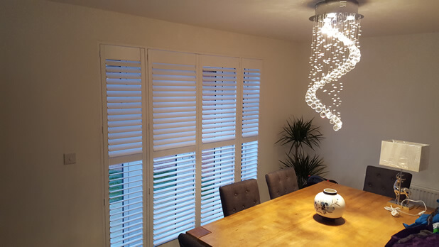 new build shutters patio doors