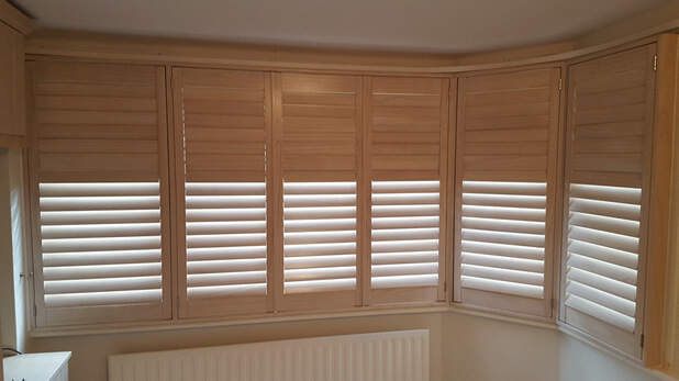 paulownia wood shutters hidden split