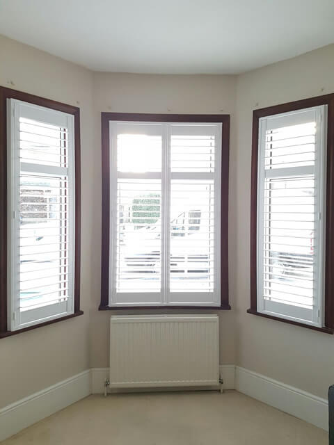 completed shutters