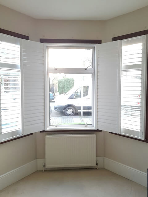 completed adjusted shutters