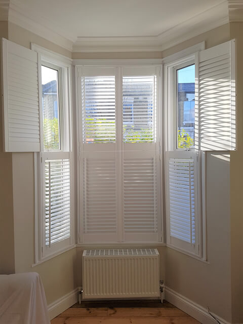 tier on tier bay shutters