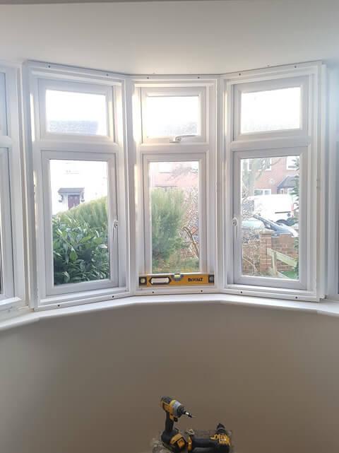 shutter frames fitted