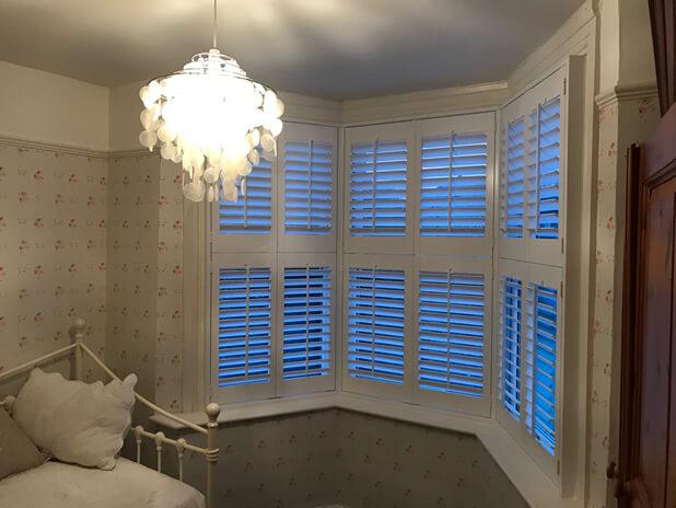 sidcup shutters bedroom bay