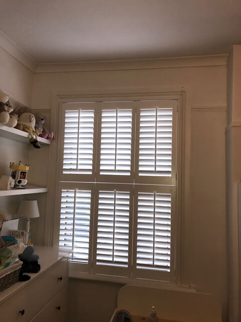 sidcup shutters childs bedroom