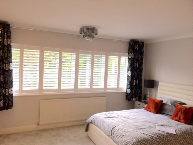 bedroom shutters palmers green