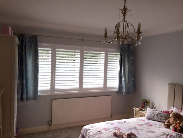shutters with curtains palmers green