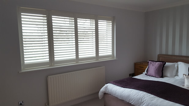 bedroom shutters warlingham