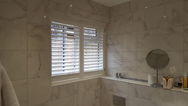 bathroom shutters warlingham