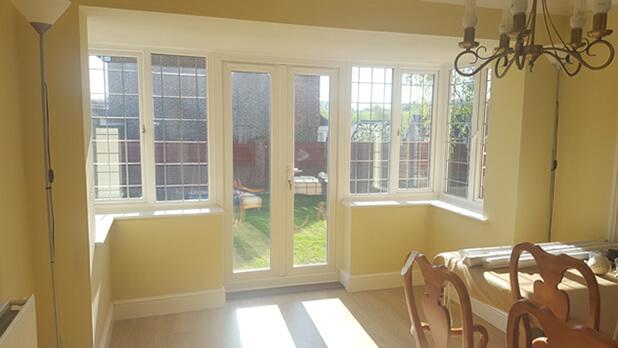 maidstone window door shutters before