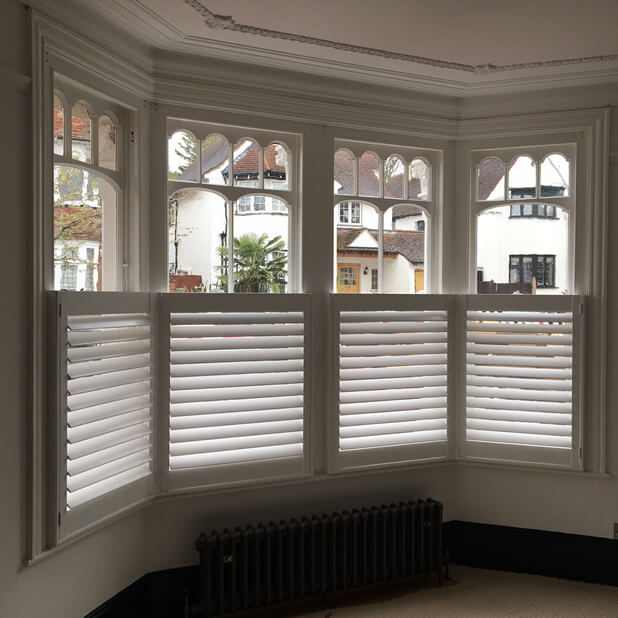 Full height and caf style shutters for flat in bromley Are plantation shutters still in style 2017