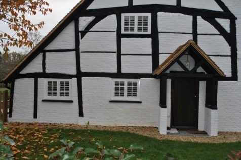 Full Height Shutters for Cottage in Ripley, Surrey