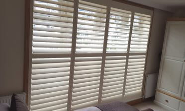 Plantation Shutters for Apartment in Islington, North London