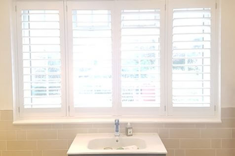 Bathroom Shutters for Victorian Property in Blackheath, London