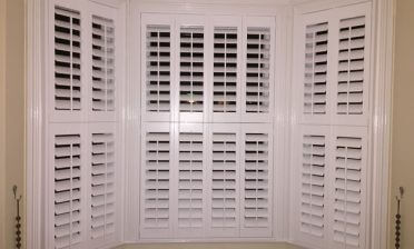 Bay Window Shutters for Home in East Dulwich, South London