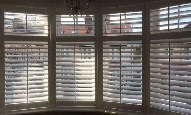 Full Height Shutters for multiple rooms of Home in Beckenham, Kent