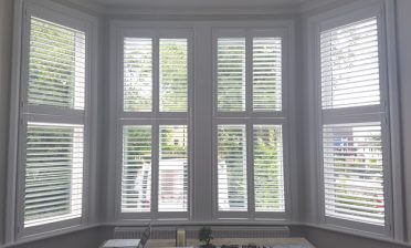 Bi-Folding Tier on Tier Shutters for Home in Brockley, South London