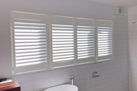 Bathroom Shutters for Property in Brockwell Park, South East London