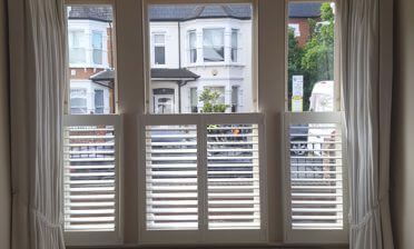 Cafe Style Shutters for Home in West Croydon, Surrey