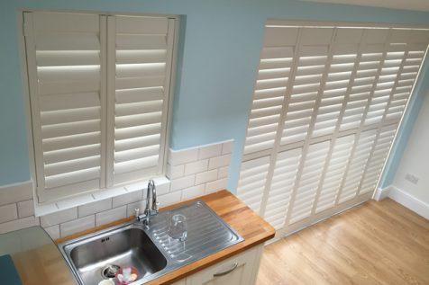 Kitchen Window and Door Shutters for Home in Beckenham, Kent