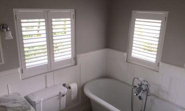 Window Shutters for Bathroom in Croydon