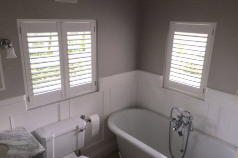 Window Shutters for Bathroom in Croydon
