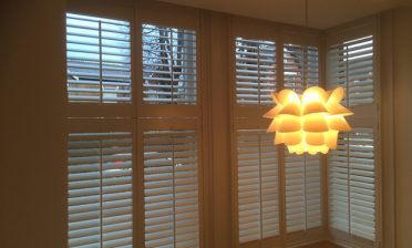 Tier on Tier Cuba Shutters for Home in Beckenham, Kent