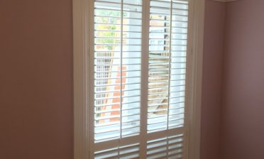 Shutters for back door of property in Bromley, Kent