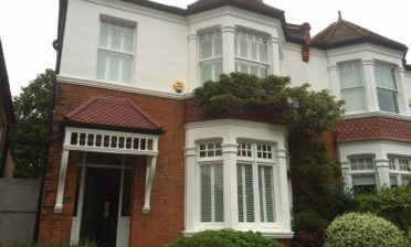 Cuba Shutters fitted throughout home in Dulwich, South London