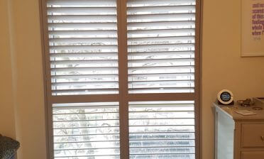 Shutters fitted to Kitchen, Lounge and Bedroom of Flat in Acton, Ealing West London