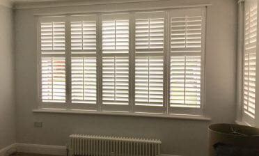 Fiji Living Room Shutters for Home in Brixton, South London