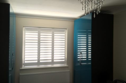 Bespoke Full Height Shutters for Home in Bromley
