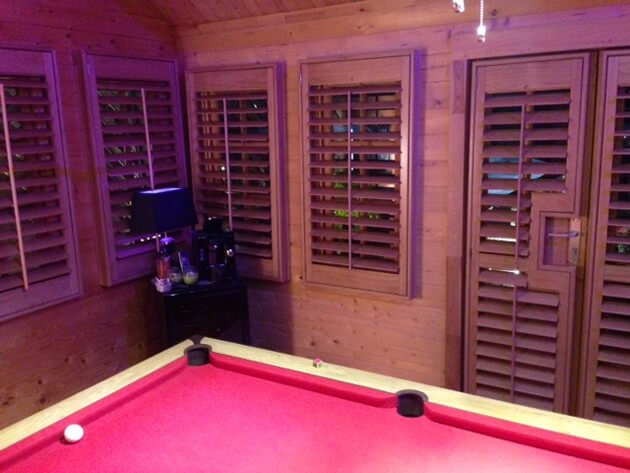Shed Games Room Shutters In West Dulwich London Shuttersup