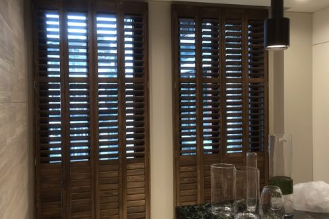 Shutters fitted to Hotel Suite in Kensington