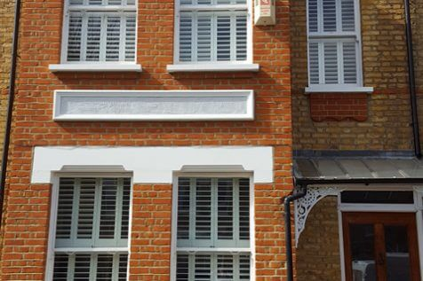 Tier on Tier Shutters for recently renovated Edwardian Property in Ilford, London