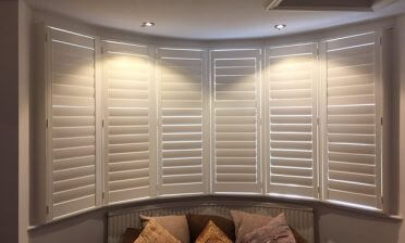 Shutters for Multiple Rooms of Home in Keston, Bromley