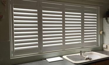 Shutters Fitted in Kitchen in West Wickham, Kent
