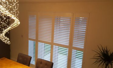 Lounge, Dining Room and Bedroom Shutters for New Build Home in Pevensey, East Sussex