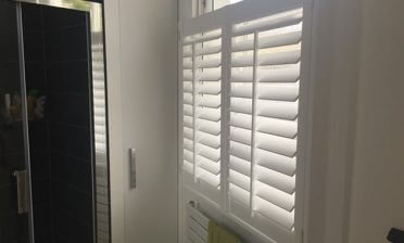 Shutters for Bathroom and shower room in Peckham, South London