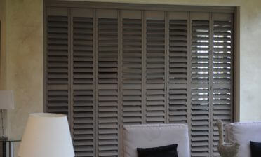 Room Divider Shutters for Home in Dulwich, South London