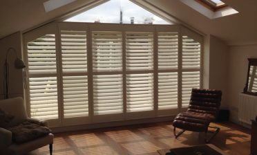Shaped Shutters for property in East Dulwich, London