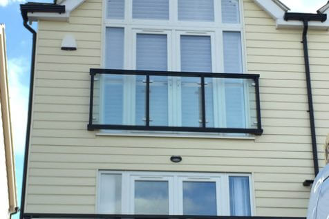 Fiji Shaped Shutters for Property in Maidstone, Kent